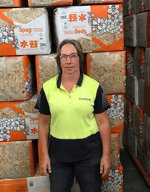 Kaye Wieblitz - Factory Manager, Coastpak (Spagmoss)