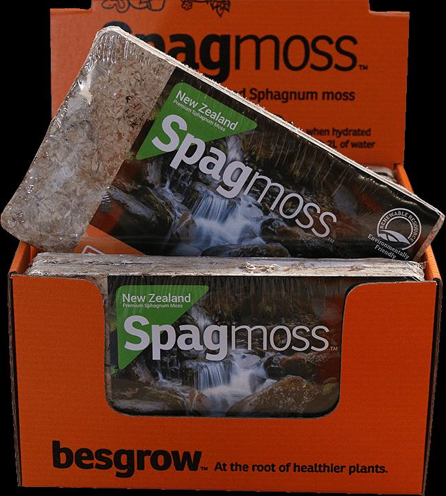 Spagmoss Compressed 100g Briquette